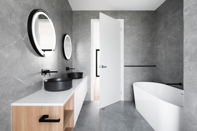 Waarom een betonvloer in de badkamer